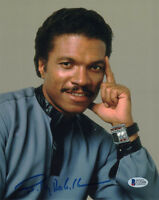 BILLY DEE WILLIAMS SIGNED AUTOGRAPHED 8x10 PHOTO LANDO STAR WARS BECKETT BAS
