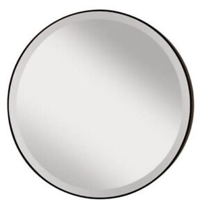 "Feiss Johnson Oil Rubbed Bronze 28"" Mirror MR1127ORB New"