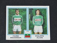 N°406 FARID BOUDEBZA PHILIPPE ALAIN LUCE PANINI FOOTBALL 80 1979-1980