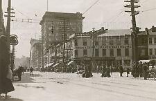 1907 Hamilton Ontario ON James Street photo CHOICES 5x7 or request 8x10 or 8x12