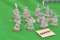 28mm fantasy / goon - warband unpainted as photo 12 figs - inf (44021)