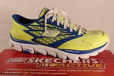 Skechers Men's Slippers Sneakers Low Shoes Neon Yellow New