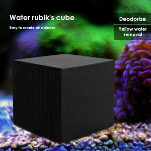 Activated Carbon Aquarium Filter Fish Tank Charcoal Water Cube Air Purification