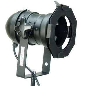 PAR 36 ACL Spot Schwarz Schraubsockel Stecker - PAR Can Scheinwerfer Spotlight