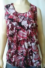 Polyester Tank, Cami Multi-Colored Tops & Blouses for Women