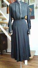 30er Jahre Kleid Original 1930er vintage  schwarz 40/42