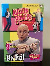 """Austin Powers Dr. Evil Figurine Special 9"""" Edition McFarlane Toys - New Unopened"""