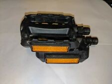 """Plastic 1/2"""" Spindle Bicycle Platform Pedals 3"""" x 3"""" x . NEW"""
