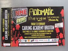 NME AWARDS  LONDON  23/02/2007  TICKET UNUSED