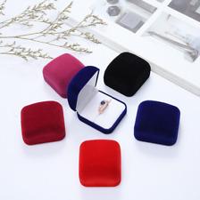 Deluxe Velvet Ring Earrings Gift Box Case Jewelry Display Buy 3 get 1 free