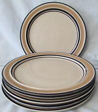 Cera Nova 4122 Cycles Camel Dinner Plate set of 6