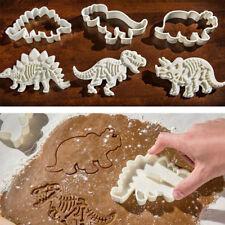 3Pcs Dinosaur Cookie Cutter Children Favor Biscuit Pastry Fondant Cake DIY Mould