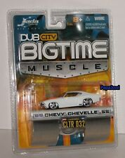 Jada Big Time Muscle 1969 Chevrolet Chevelle SS 69 Chevy 2005 CLTR 032 1:64 S