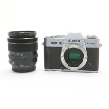 Fujifilm Fuji X-T20 + XF18-55mm F/2.8-4 R LM OIS Lens Kit (Silver) #108