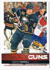 2012-13 UPPER DECK YOUNG GUNS UD EXCLUSIVES TRAVIS TURNBULL 020/100 BUFFALO