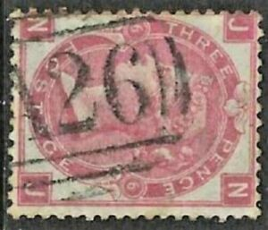 GB Used Abroad in GIBRALTAR A26 3d. rose pl.6.