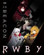 RWBY VOLUMES 1 - 3 New Sealed Blu-ray Beacon Steelbook 1 2 3