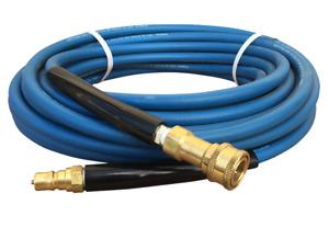 25ft / 7.5 Pressure Carpet Cleaning Solution WATER Hose Pipe Prochem Ashby Ninja