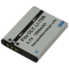 Battery + Charger for Li-70B Li70B VG-140 VG-150 VG-160 X-940 Camera VG-110 New