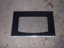Ge Range outer black door glass Wb57K10109