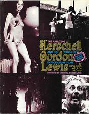 Herschell GORDON LEWIS – Explotation Films BOOK AUTOGRAPHED!
