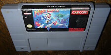 Super Nintendo Game MEGA MAN X! Cleaned, Tested, Works Great! SNES Action! Fun!