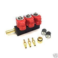 Valtek Rail Injektor Einspritzleiste LPG Typ 30 3 Zylinder 3 Ohm GPL Autogas T30
