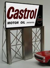 Miller's Castrol Motor Oil Animated Neon Sign O/HO Miller Engineering
