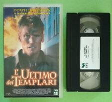 VHS FILM Ita Avventura L'ULTIMO DEI TEMPLARI dolph lundgren ex nolo no dvd (V69)