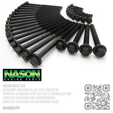 NASON HEAD BOLT KIT V8 GEN III LS1 5.7L MOTOR [HOLDEN VT-VX COMMODORE/SS/CALAIS]