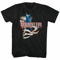 RESIDENT EVIL 2 T Shirt Licensed Video Gaming Tee Black