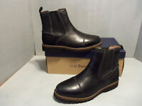 Mens G.H. Bass Erving Ankle Boots New In Box Colors Brown Black Sizes NIB
