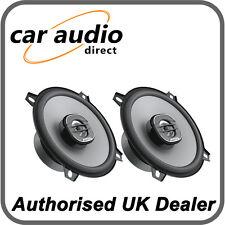 """Hertz Uno X 130 5.25"""" 13cm Car Audio 2 Way 4Ω Coaxial Speakers Door Shelf 160W"""