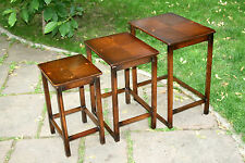 Solid Wood Vintage/Retro Nested Tables