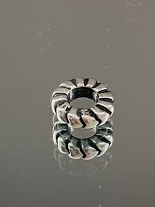 Genuine Pandora Bracelet Charm - Hearts Spacer Charm  790204. #6/10