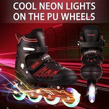 New listing USA*--Unisex Inline Skates Size 7 8 9 10 11 (5 Sizes) Adjustable Roller Blades