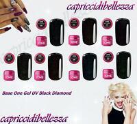 Base One Gel UV Base Black Diamond SILCARE - Color Nail Art Ricostruzione unghie