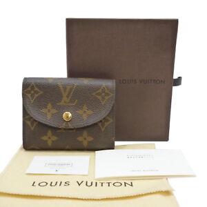 Authentic LOUIS VUITTON Portefeuille Helene Mini Wallet Monogram M60253 #S111151