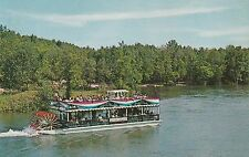 LAM(D) East Tawas, MI - The River Queen - Paddle Wheel Boat - Au Sable River