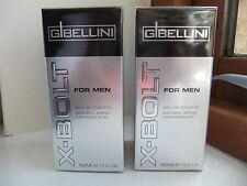Pack of 2 - X Bolt for men EDT spray 50ml Lidl aftershave