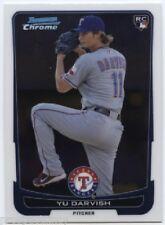 Lot of (95) Yu Darvish 2012 Bowman Chrome RC Cards - Texas Rangers ACE SP