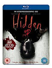 Hidden 3D (3D Blu-ray, 2011) Includes 3D & 2D Versions of the Movie. Region B