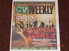 CV WEEKLY MAGAZINE COMIC CON PALM SPRINGS ISSUE ZOMBIE JULY 28 TO AUGUST 3 2016