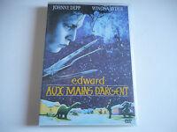 DVD - EDWARD AUX MAINS D'ARGENT - JOHNNY DEPP / WINONA RYDES - ZONE 2