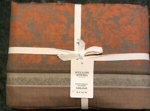 "William Sonoma  Tablecloth, Size 70"" X 108"", New W/ $169.95"