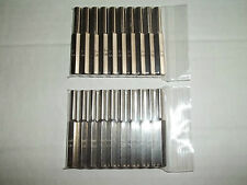 10 pairs 3.8mm + 4.5mm security bit gamebit nes super nintendo n64 gameboy  sega