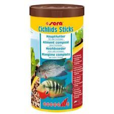 1000 ml Fischfutter sera cichlids Sticks Futtersticks für Cichliden Barsche
