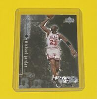 1999 Upper Deck Michael Jordan BLACK DIAMOND Chicago Bulls #8 HOF 🔥