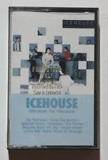 ICEHOUSE Measure For Measure Cassette Chrysalis 41527 US 1986 VG++ Gold Stamp