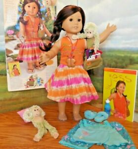 """Retired 18"""" American Girl of the Year 2006 Jess Doll w Monkeys*Catalog*Book*MORE"""